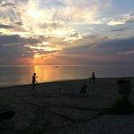 Закат в Сивири