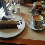 Cafe and cake
