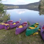 On site kayak and canoe hire