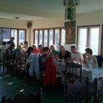 Sarangkot Sherpa Resort Dining area