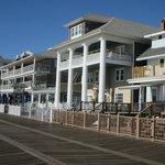 Front Portico from Boardwalk