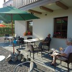 At our terrace in September afternoon.