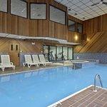 Pool,jacuzzi and sauna.