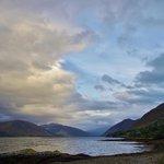 Evening view along Loch