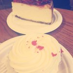 Cup cake and cheese cake