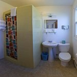 Three Double Bed Bathroom