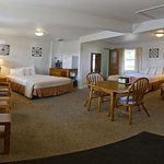 Three Double Bed Room