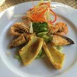 Seafood temptation..