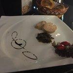 Foie gras goose liver made by chef