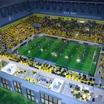 Stadion im Miniland