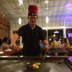 Hibachi chef PC Zhu