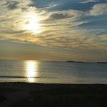 Couche de soleil à l'AR de l'hôtel (plage à 30m)