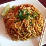 Szechuan peanut noodles with chicken (special)