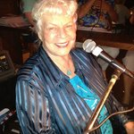 The legendary Pianist and Singer Joy Smith at Mars Piano Bar