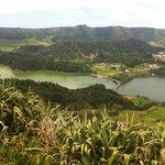 Lagoa Verde und Lagoa Azul