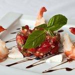 Salade de tomate cerise
