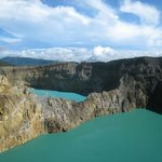 Kellimutu lakes, Indonesia