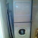Lavadora, secadora, plancha, cuna....