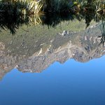 Reflection of the Earl Mountains, Mirror Lakes