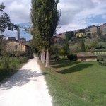 "l'incredibile ""valle verde"" in centro a Siena"