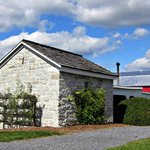 Blacksmith shop and barn at Belle Grove