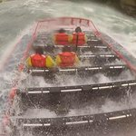 Whirlpool Jet Boat ride in class 5 rapids Exciting!