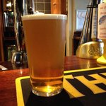 Lovely pint of Golden Sheep from the Kings Head Hotel