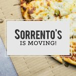 SORRENTO'S NEW LOCATION IS 10479 SEYMOUR FRANKLIN PARK IL.60131