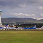 Hotel sits directly accross from Edinburgh Airport