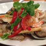 Pad Khing Seafood