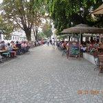 sidewalk cafes nearby