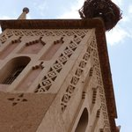 Tower w/ stork nest