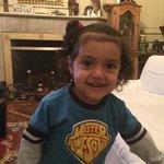 La princesita de la familia muy linda y su hermanito también!