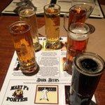 Beer tasting.
