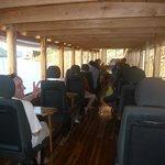 Sunset river cruise