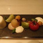 TOMATO…書かれたカード見た時はトマト?と思いましたが、料理が来て「なるほど!」と唸った!!!