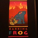 Barking Frog Sign