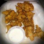 Deep Fried Cauliflower!!!!  Soooooo Gooooood!!!!
