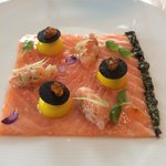 Salmon Carpaccio > Delicious