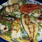 Mixed fish grill
