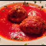 The meatball appetizer