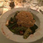 Plat Wok Légumes avec parmesan