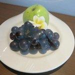 サービスの果物