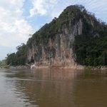 Karst on Mekong near Kamu Lodge