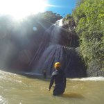Waterfall abseil @ Piha Full day trip