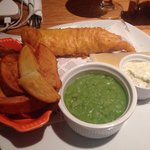 Fish & Chips @ the Bar/Restaurant