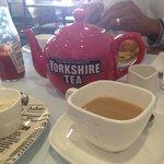 Yorkshire tea - great giant teapot ��☕️