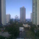 View from room 808
