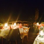Dinner after game drive