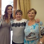 With Anastasia and Antoinetta, her mother